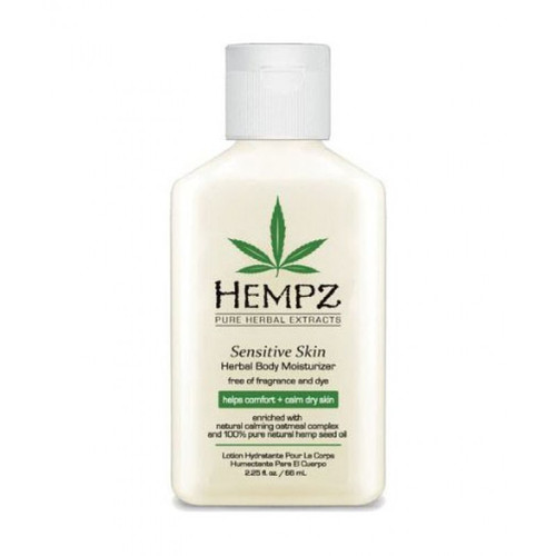 Hempz Sensitive Skin Herbal Body Moisturizer 2.25 oz