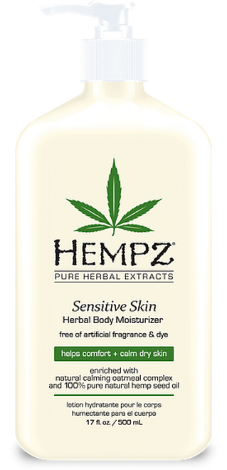 Sensitive Skin Herbal Body Moisturizer