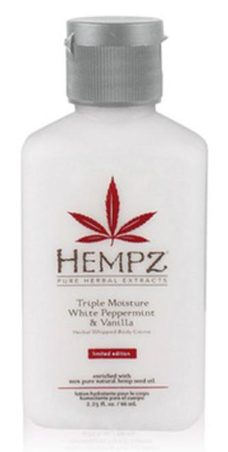 Hempz Peppermint & Vanilla Moisturizer 2.25 oz