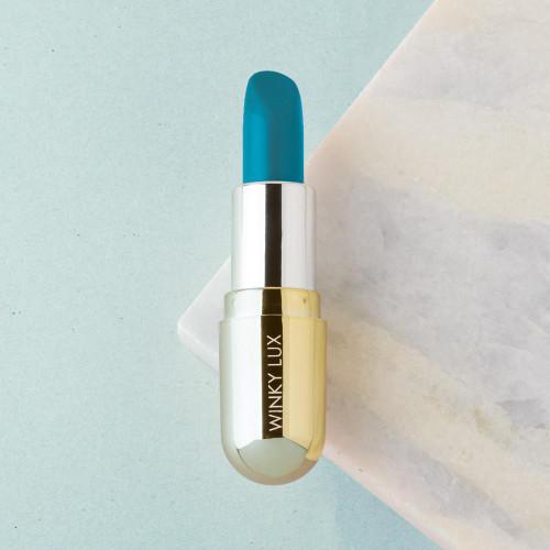 Winky Lux Lip Velour Matte Lipstick - Blue Moon