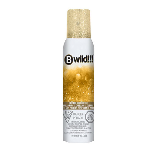 Jerome Russell Bwild Gold Glitter Spray