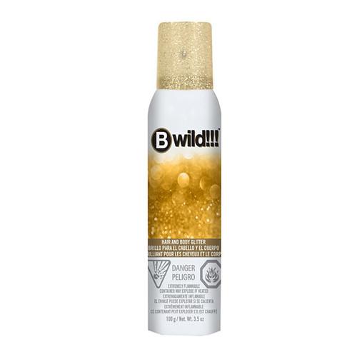 Jerome Russell Bwild Gold Glitter Spray