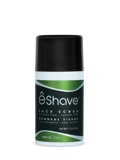 eShave White Tea Face Scrub 1.7 oz