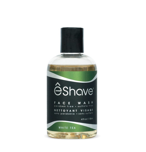 eShave White Tea Face Wash 4 oz