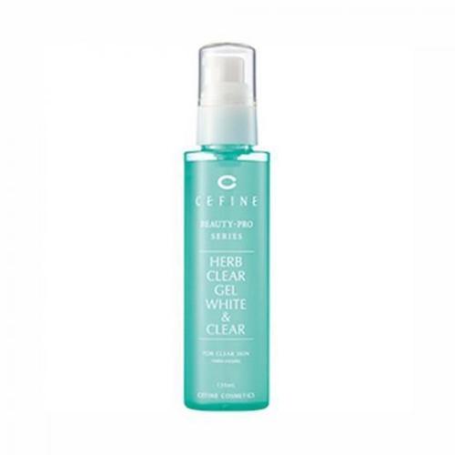 Cefine Herb Clear Gel White & Clear 120ml