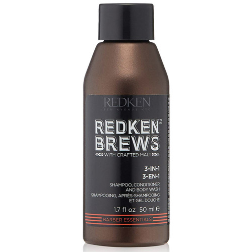 Redken Brews 3-in-1 Travel Size