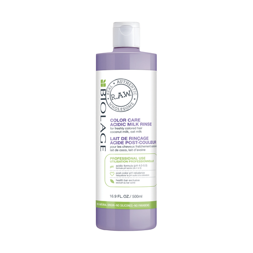Biolage RAW Color Care Milk Rinse 16.9 oz