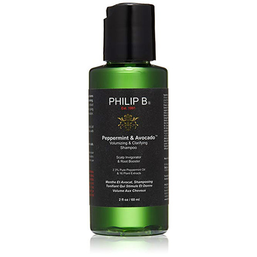 Philip B Peppermint and Avocado Volumizing & Clarifying Shampoo 2 oz