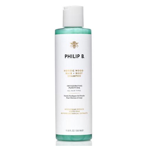 Philip B Nordic Wood Hair & Body Shampoo 11.8 oz