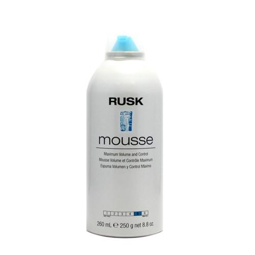Rusk Mousse Maximum Volume and Control 8.8 oz
