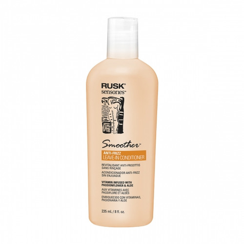 Rusk Sensories Smoother Passionflower and Aloe Leave-In Conditioner 8.5 oz