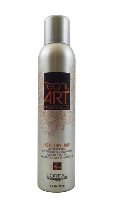 L'oreal Tecni Art Wild Stylers Next Day Hair Dry Finishing Spray 6.8 oz