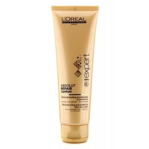 L'Oreal Serie Expert Absolut Repair Lipidium Reconstructing Blow Dry Cream 4.2 oz