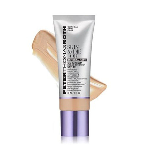 Peter Thomas Roth Skin To Die For Mineral-matte CC Cream SPF 30 Light 1 oz