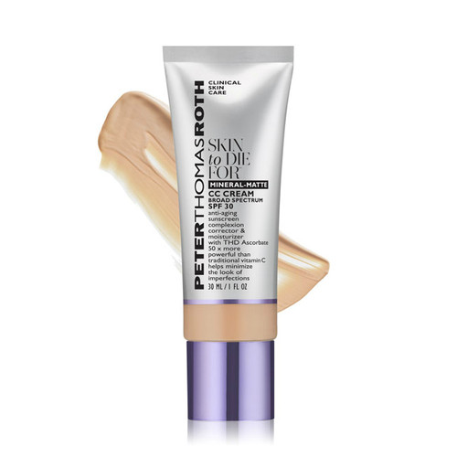 Peter Thomas Roth Skin To Die For Mineral-matte CC Cream SPF 30 Tan 1 oz