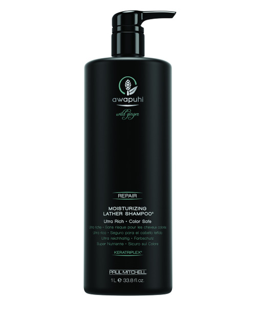 Paul Mitchell Wild Ginger Awapuhi Moisturizing Lather Shampoo 33.8 oz