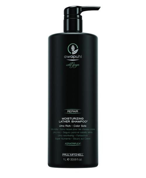 Paul Mitchell Wild Ginger Awapuhi Moisturizing Lather Shampoo 33.8 oz