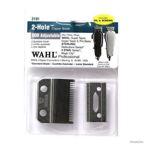 Wahl 5 Star Senior 2 Hole Blade Slide And Lever