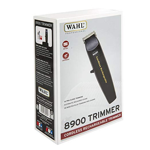 Wahl Cordless Rechargeable Trimmer box