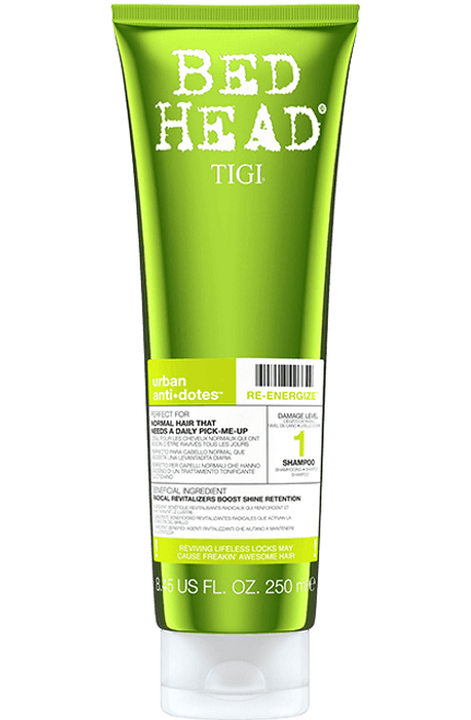 Tigi Bed Head Urban Anti-Dotes Re-Energize Shampoo 8.45 oz