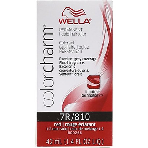Wells 810 / 7R Color Charm Red Red