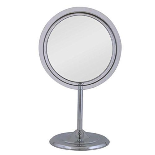 Vanity Mirror Adj.Ped 5X Chrom