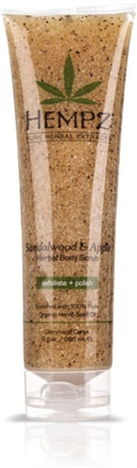 Hempz Sandalwood & Apple Herbal Body Scrub