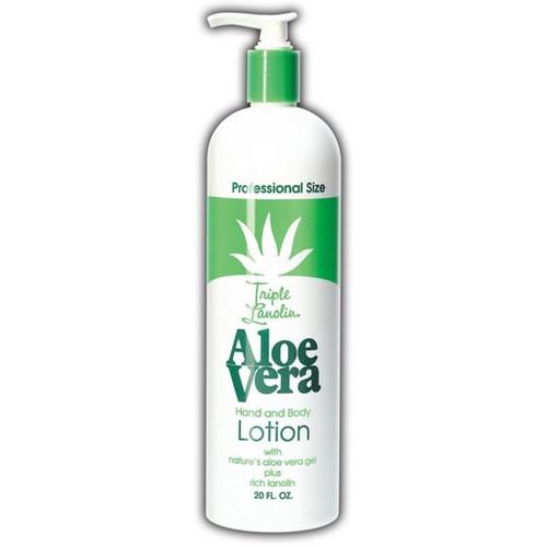 Triple Lanolin Aloe Vera Lotion 16 Oz