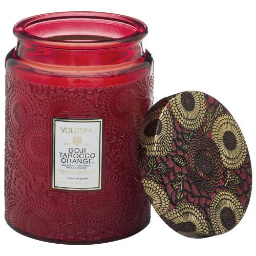 Voluspa Large Jar - Goji & Tarocco Orange Candle