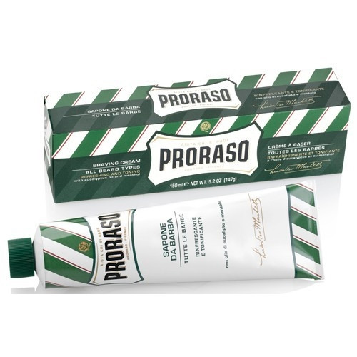 Proraso Shaving Cream for All Beard Types with Eucalyptus and Menthol - 5.2oz