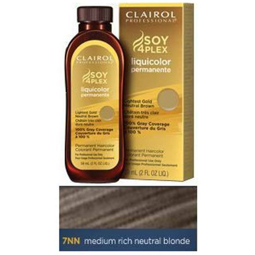Clairol Color 7NN - Medium Rich Neutral Blonde - 2 oz