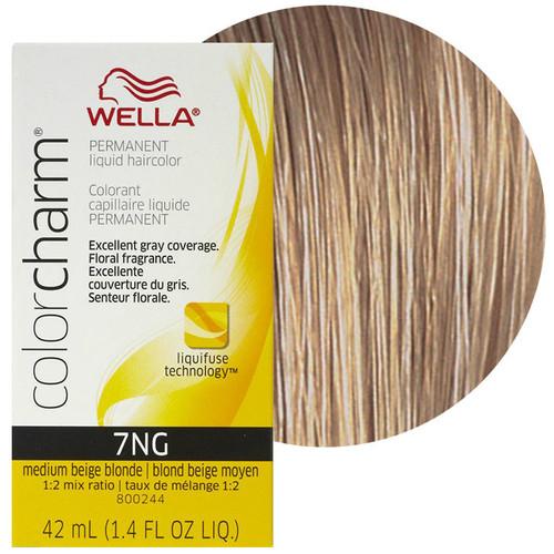 Wella Color Charm 7NG - Medium Beige Blonde - 1.4 oz
