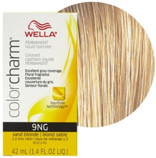 Wella Color Charm 9NG - Sand Blonde - 1.4 oz