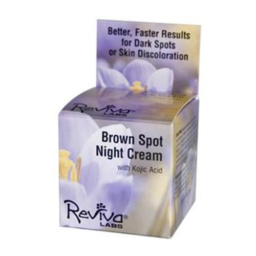 Reviva Labs Brown Spot Cream With Kojik Acid 1 Oz