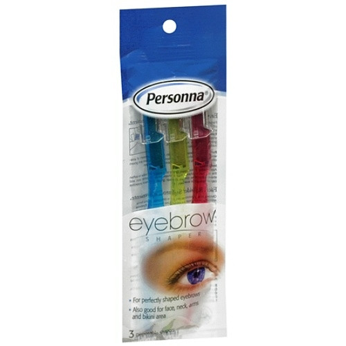 Personna Eyebrow Shaper - 3 Shapers