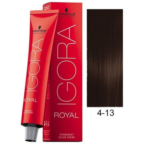 Igora Royal Color 4-13 - Medium Brown - 2.1 oz
