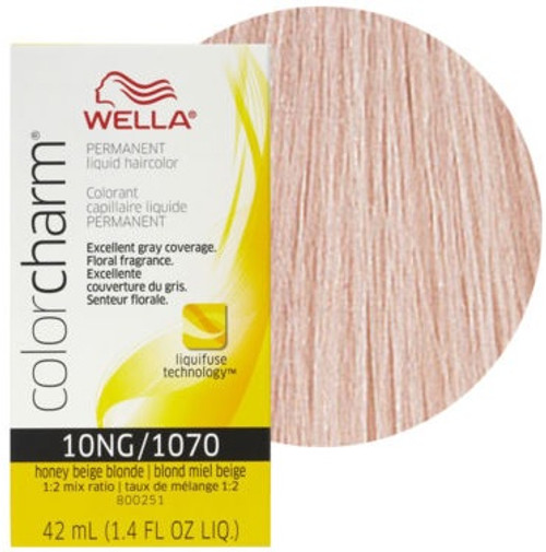 Wella Color Charm Color 1070 - Honey Beige Blonde 1.4 oz