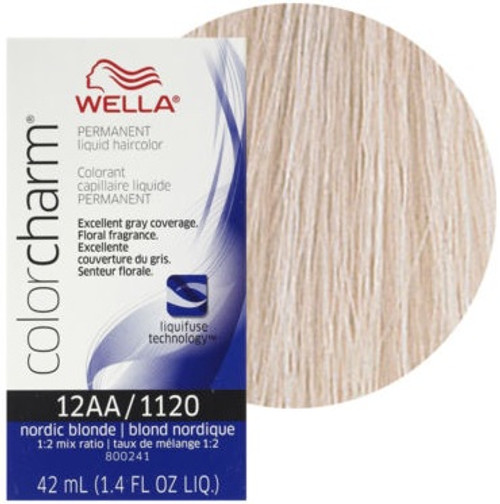 Wella Color Charm Color 1120 - Nordic Blonde 1.4 oz