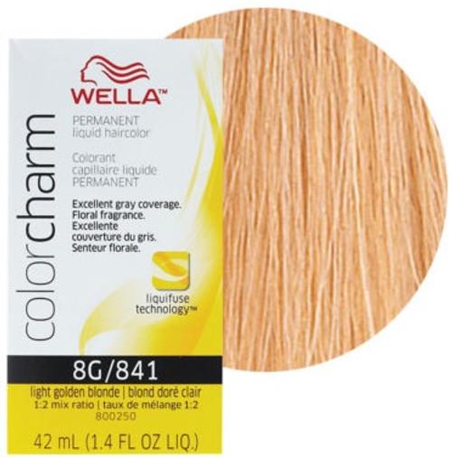 Wella Color Charm Color 841 - Light Golden Blonde 1.4 oz