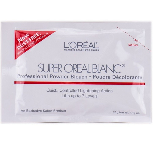 L'Oreal Super Oreal Blanc Professional Powder Bleach 1.1 oz