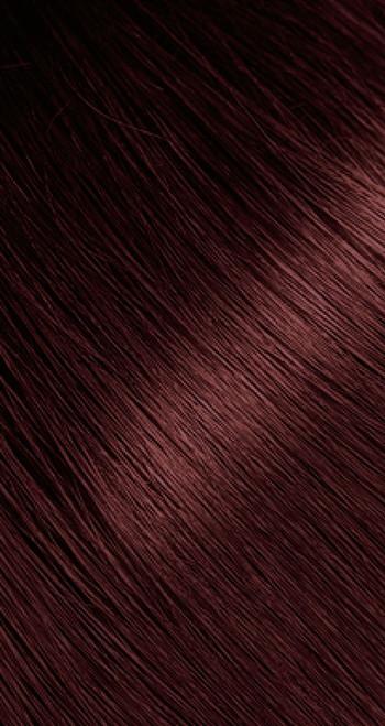 Dark auburn hair color
