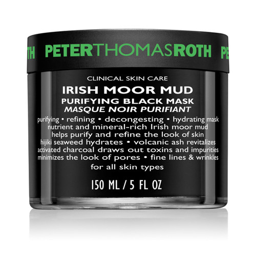 Peter Thomas Roth Irish Moor Mud Purifying Black Mask 5 oz