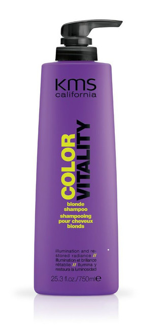 KMS Color Vitality Blonde Shampoo - 25.3 oz