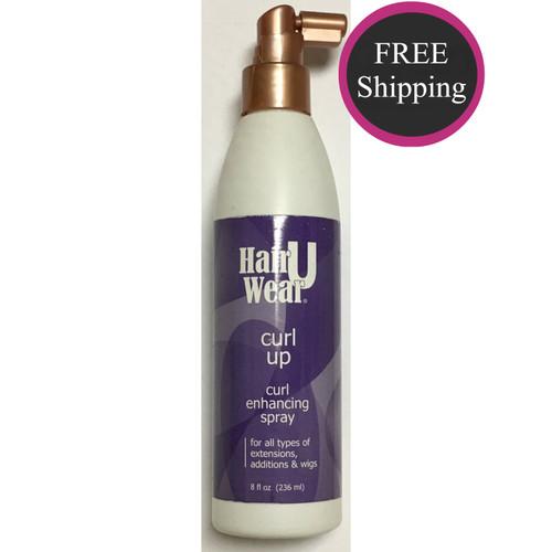 Hair U War Curl Up Curl Enhancing Spray, 8 oz: Free shipping!