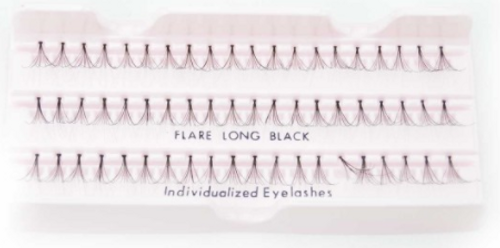 Beautee Sense Natura-Lash Individualized Eyelashes - Flare Long Brown