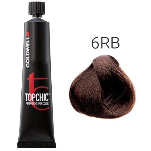 Goldwell Topchic 6RB Hair Color 2.1 oz