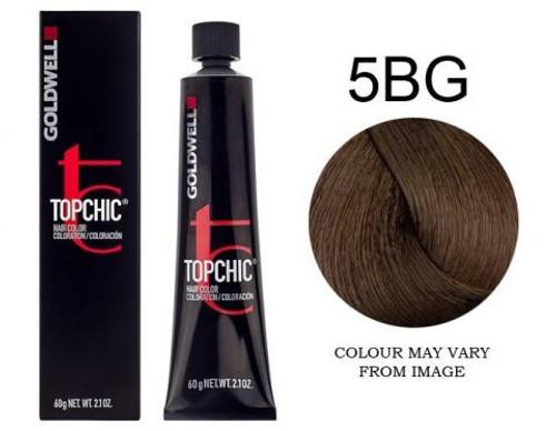 Goldwell Topchic 5BG Hair Color 2.1 oz