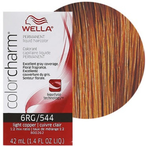 Wella Color Charm 544 - Light Copper - 1.4 oz