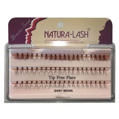 Beautee Sense Natura - Lash Short Brown