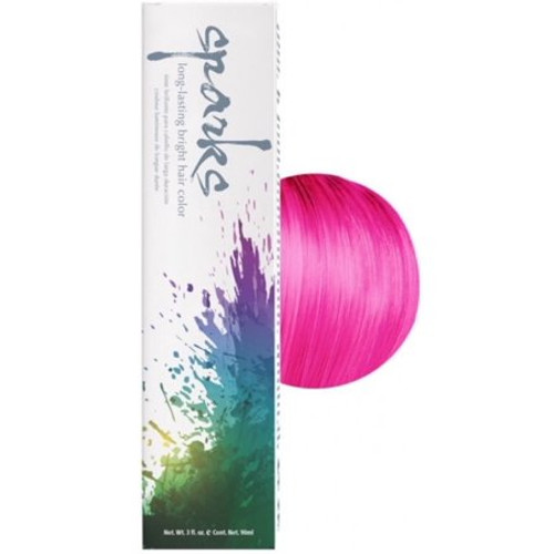 Sparks Magenta Mania Hair Color 3 oz: box and color